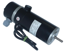 45W brushed servomotor with encoder