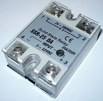 Solid State Relay, single phase 380VAC/25A max.