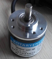 Incremental encoder with shaft
