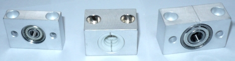 TR10x2 trapezoidal nut and bearing support kit