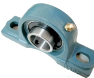 UPC203 bearing support with self centering bearing