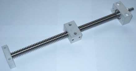 TR10x2 trapezoidal screw nut and endsupports kit