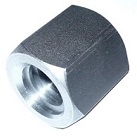 TR16x4 trapezoidal nut, steel, hexagonal