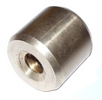 TR16x4 trapezoidal nut, bronze, round, non flanged